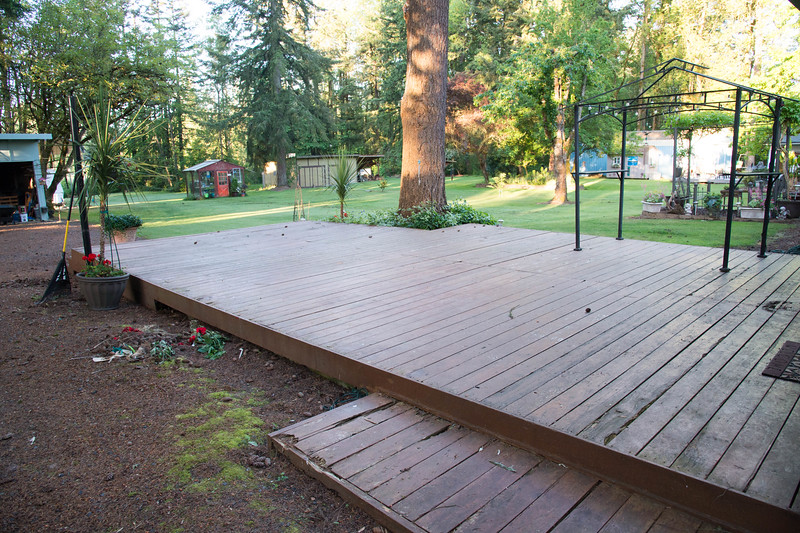 Old Deck - Side View