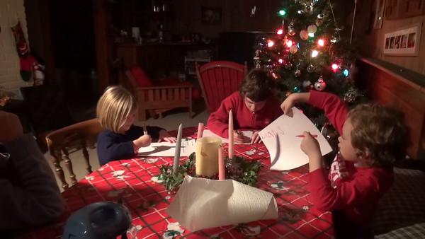 Santa List, Advent Part 1, December 10th, 2015