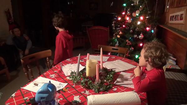 Santa List, Advent Part 2, December 10th, 2015