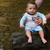 Landon first Deep Creek 06