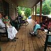Deep Creek Landon on porch