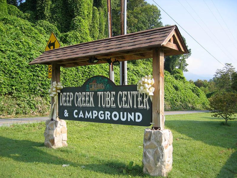 Deep Creek 04  sign