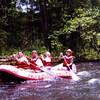 Deep Creek rafting 1