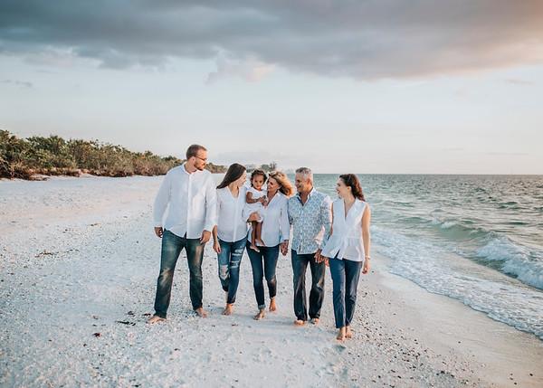 Del Negro Family// Barefoot Beach