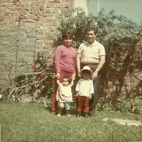 Mi familia, papa, mama y hermanita!