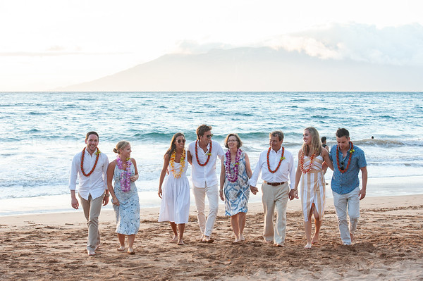 DelPresto Family in Maui