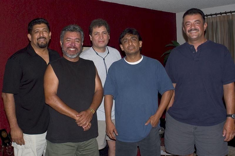 Rudy, John, Manuel, Paul, Eliseo