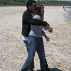 Depta Family Reunion sound beach skipping stones