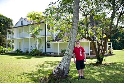 Old Wai`oli Mission House.