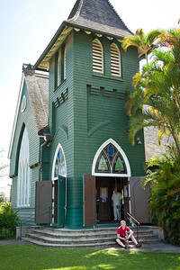 Wai`oli Hui`ia Church, Hanalei.