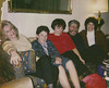 1992 Diane, Alex, Andrea, Ron and Artemis at Nepo Drive House