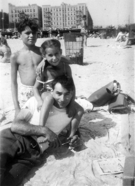 1948: Ron and Diane with Uncle Harry
