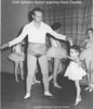 1949 Ephraim Geersh teaches Diane Pavellas Ballet