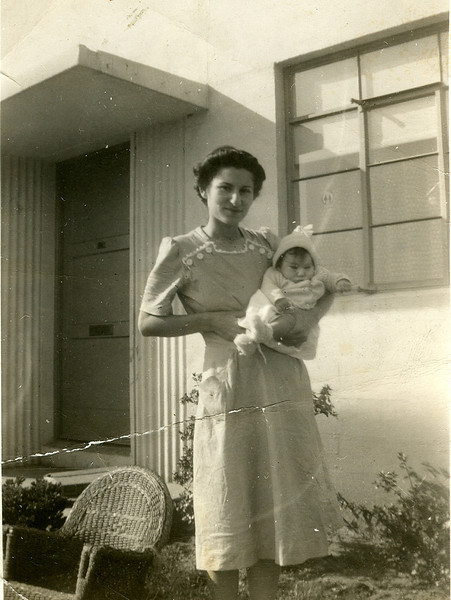 "Diane Helen Pavellas was born at Children's Hospital in San Francisco, 27 August, 1942. We were then living in the new <a href=""http://foundsf.org/index.php?title=Public_Housing_Comes_Full_Circle"">Sunnydale Housing Project</a>  for war workers at 1822 Sunnydale avenue, San Francisco, near the ""Cow Palace"" in Daly City. Mother Artemis Pavellas was 23 years old. Father Conrad Pavellas worked at the <a href=""http://en.wikipedia.org/wiki/Richmond_Shipyards"">Kaiser Richmond Shipyards</a>  as a rat-proofing foreman in building ""Liberty Ships"" for the U. S. Navy."
