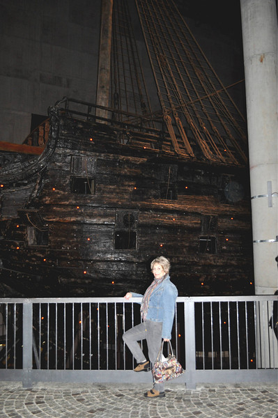 "We visit the ""Vasa"", a ship that submerged upon its launch and was recovered centuries later."
