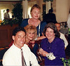1996-09-21 Rick, Diane, Patricia, Mary at wedding of Ken and Andrea-San Jose