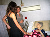 2007-06-29: Eva and Ron Pavellas, along with Eva's daughter Liv Brekell, visit mom in the nursing home.