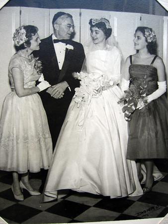Diane and Arthur's Wedding 1959