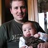 Con su tío y padrino