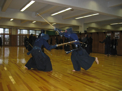 Kendo Practice - digital photo (Canon S500) - Summer 2006