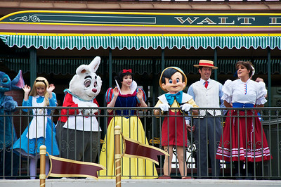 Welcome to Disney World and the Magic Kingdom!