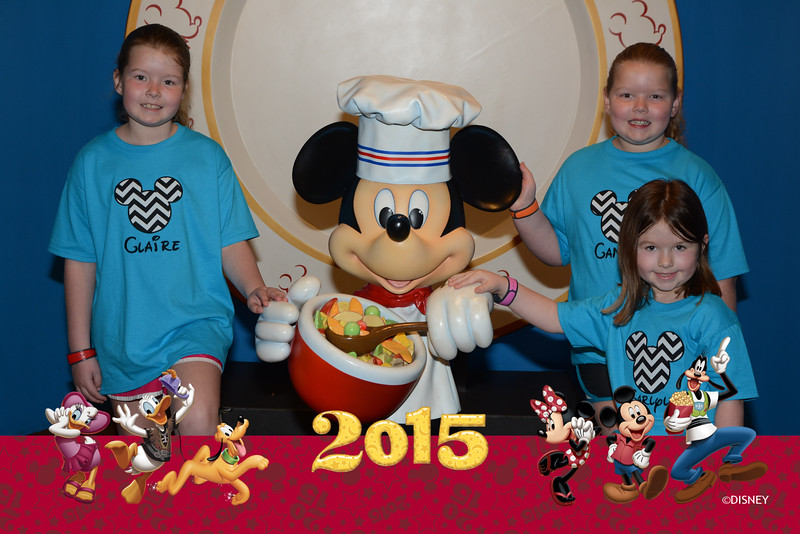 Day 2-Breakfast at Chef Mickey's