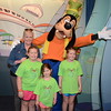 Goofy with the girls