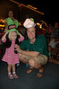 Hallie and daddy with their Goofy hats!