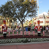 Town Square, Magic Kingdom at Christmas