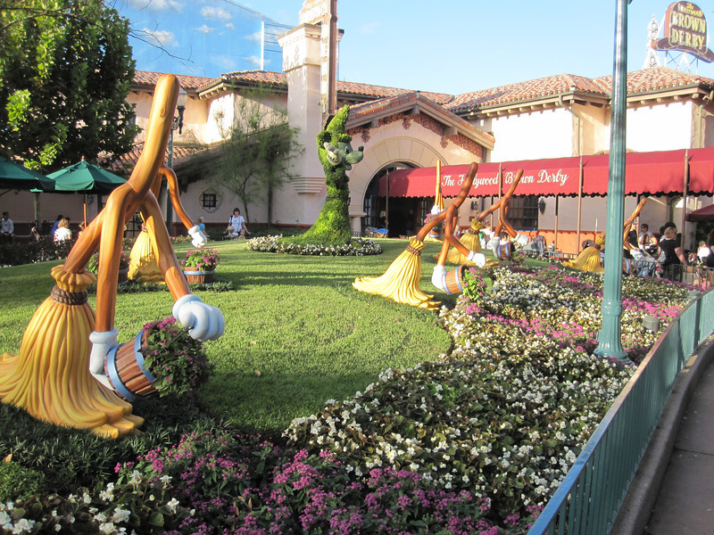 Outside the Brown Derby in Hollywood Studios