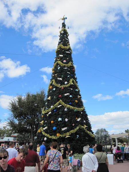 Christmas Tree, Epcot