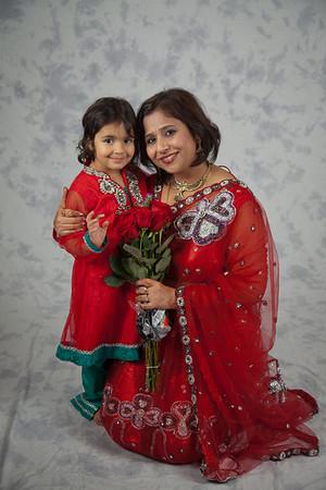 Diwali 2012 Family Portrait