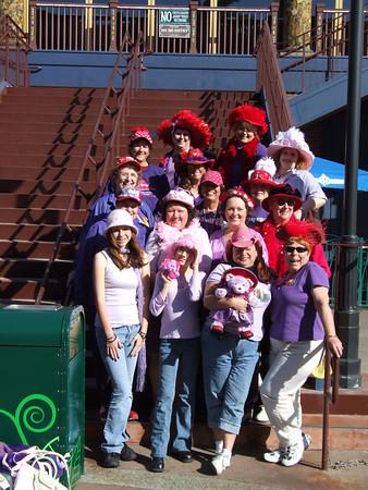 Dizney Darling Red Hatters - 1/22/06