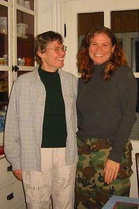 Sandy and Djuna, October 2003