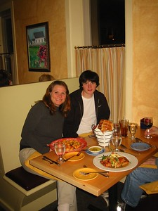 Dining in Northampton, October 2003