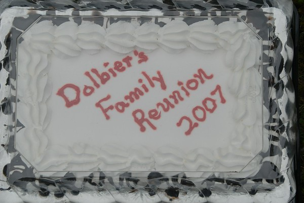Dolbier Family Reunions