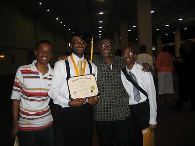 Dominic's Graduation - Whitehaven H.S. 5-24-2008