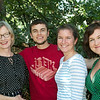 Theresa McKeon, Jack, Elizabeth and Monique Rugile.