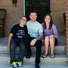 Dominick, James and Francesca