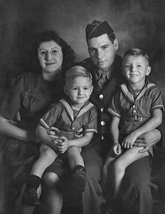 Left to right: Dorothy, Donny, Robert % Bobby Lee