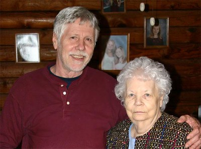 Lillian Lee - Don's Aunt (Sister of Father Robert) with Don