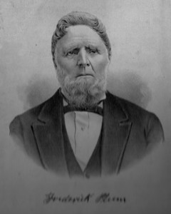 Frederick Plum - Don's maternal Great, Great Grandfather (Father of Cora Plum and Grandfather of Leland Mowen).