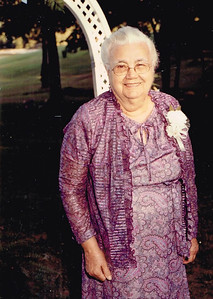 Mary Lee - Don's paternal Grandmother (Mother of Don's Father Robert).