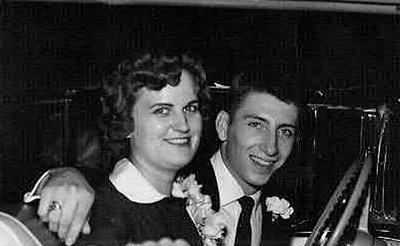 Bob & Mary Lee - Wedding day, September 1959.
