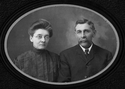 Leroy and Cora Mowen - Don;s maternal Great Grandfather and Grandmother ( Father and Mother of Leland Mowen)
