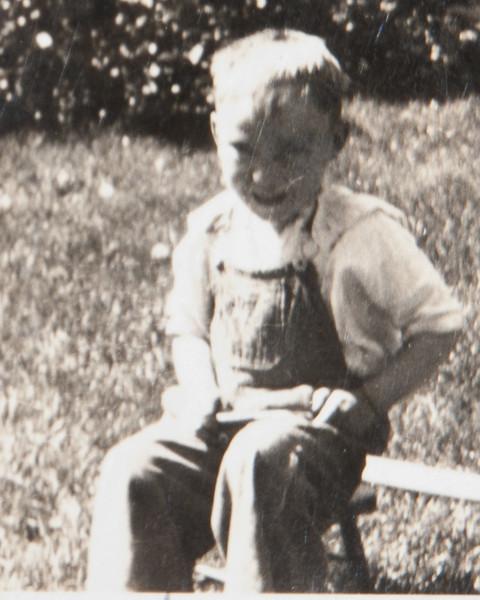 Don Newey Childhood, Cropped