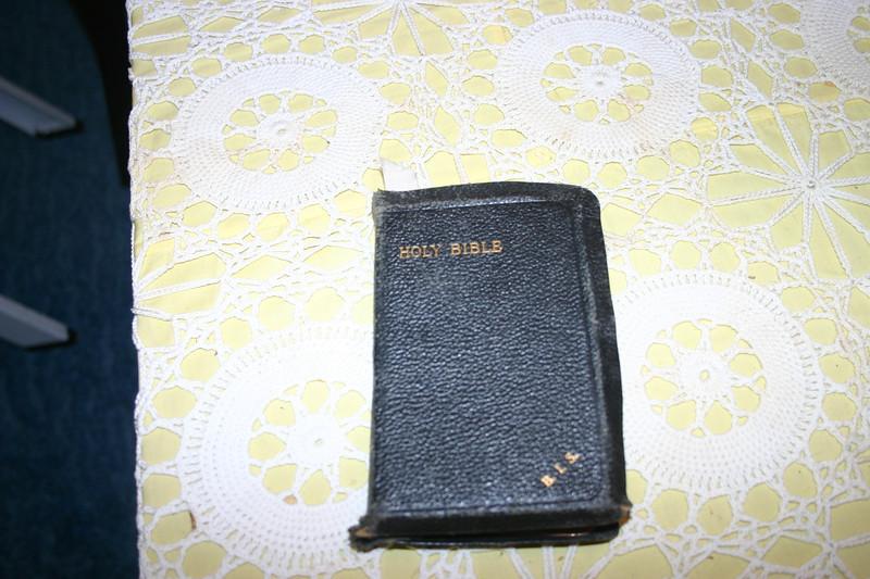 Grandma's bible.