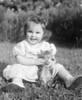 1953 Donna w kitten