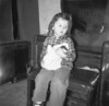 1955-03 Donna w doll