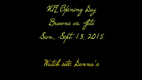 VIDEO:  Donna 9-13-2015--click on image to view